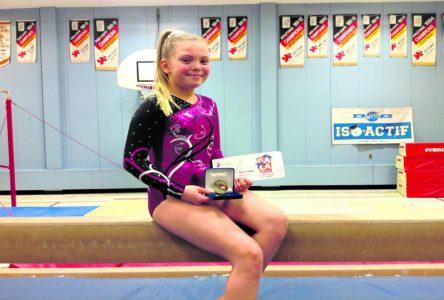 Sarah Tremblay couronnée gymnaste de l'année