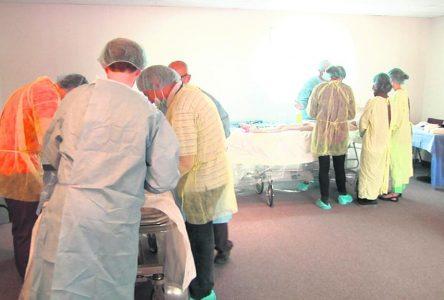 Le congrès de médecine d'urgence en région est de retour
