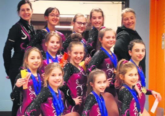L'Envol récolte 47 médailles en sélection régionale