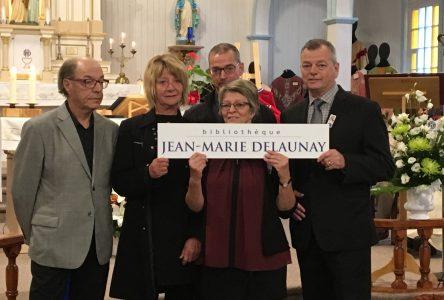 Portneuf-sur-Mer honore Jean-Marie Delaunay