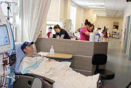 L'unité d'hémodialyse accueille ses premiers patients à Baie-Comeau