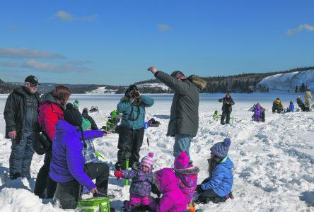 L'organisme des bassins versants fait mouche avec la pêche sur glace