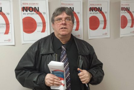 Michel Savard se mobilise contre la loi 70