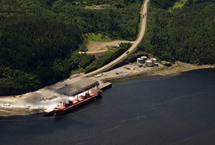 Projet de terminal maritime de l'Administration portuaire de Saguenay – Les Innus sont satisfaits mais exigent une entente formelle