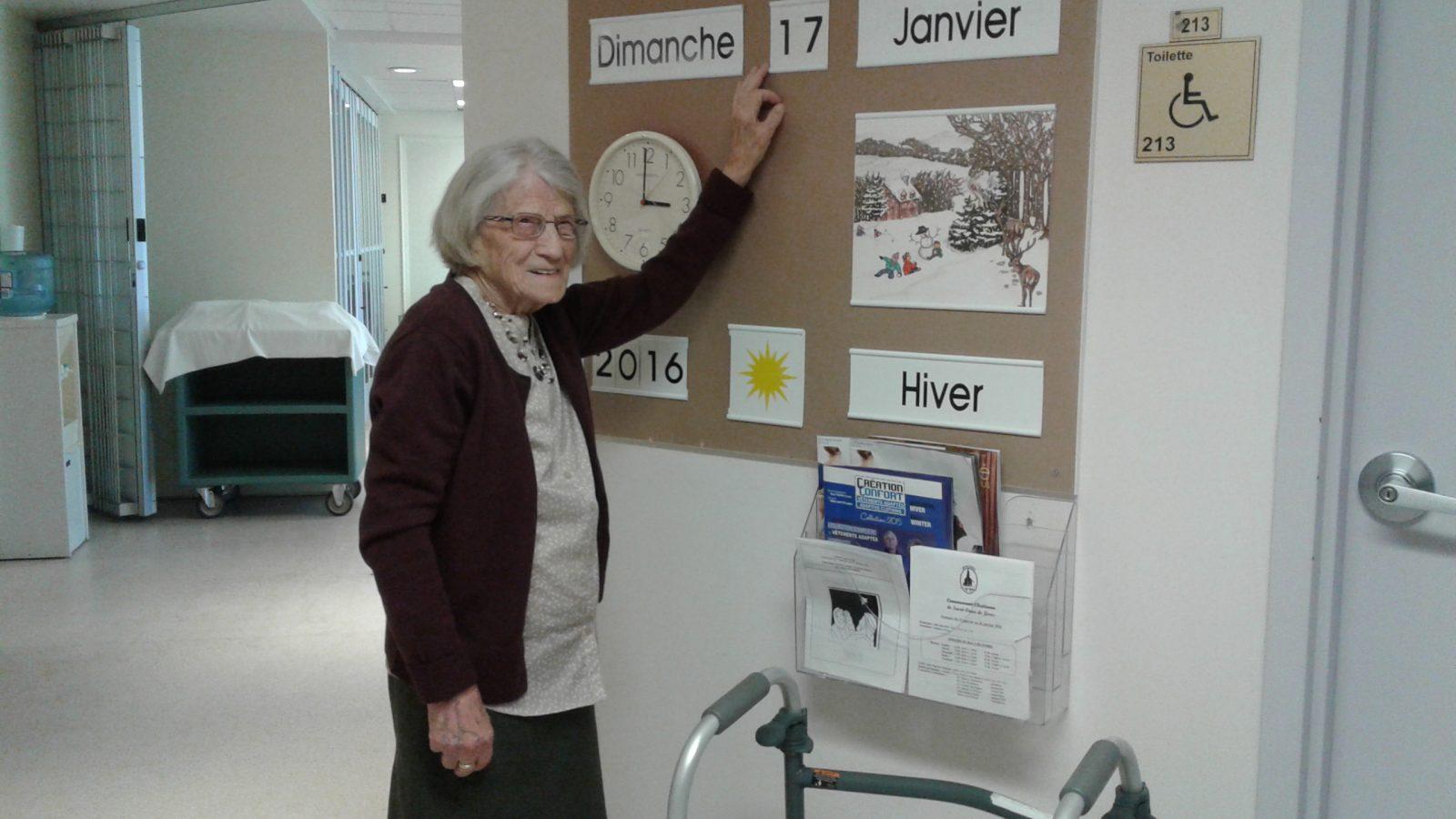 Une centenaire attachante et allumée