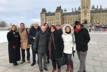 Coalition de chômeurs à Ottawa: le fédéral débloque 70 M$ pour le Nouveau-Brunswick
