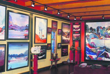 Happening de peinture de Tadoussac : la table est mise pour le 10e anniversaire