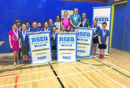 Championnat régional de badminton: la Haute-Côte-Nord domine largement