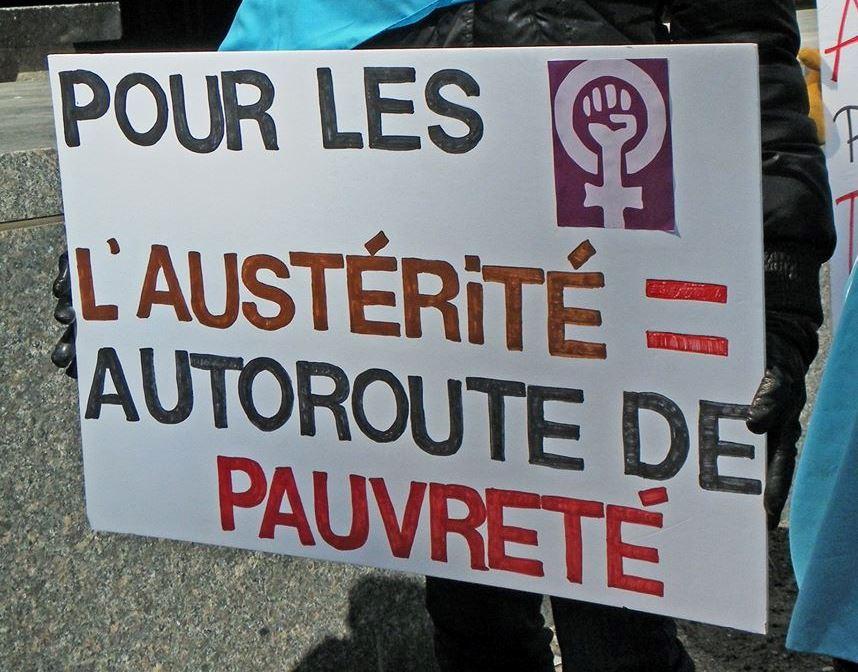 Semaine d'action des centres de femmes : l'Alliance des femmes et le Centre des femmes contre l'austérité