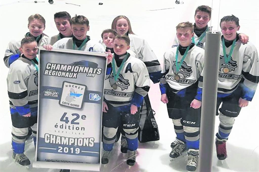 Championnats régionaux de hockey mineur – Les Prédateurs couronnent leur saison en force