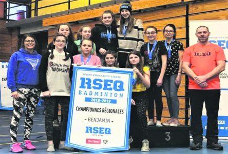 Championnat régional scolaire de badminton – La polyvalente des Berges fait des ravages à Port-Cartier