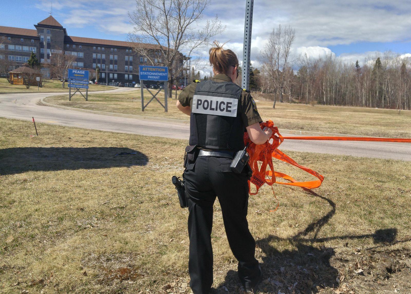 Propos menaçants : l'opération policière se termine au cégep