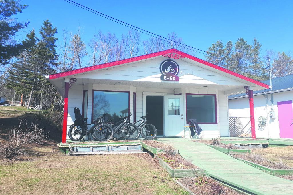 Vélo-E-Go, un nouveau mode de transport s'installe à Tadoussac