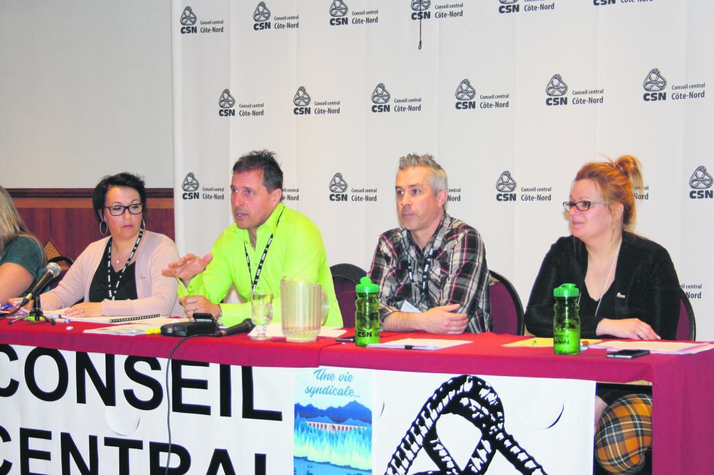 Congrès des membres à Forestville – Le Conseil central Côte-Nord-CSN mise sur la force de son organisation