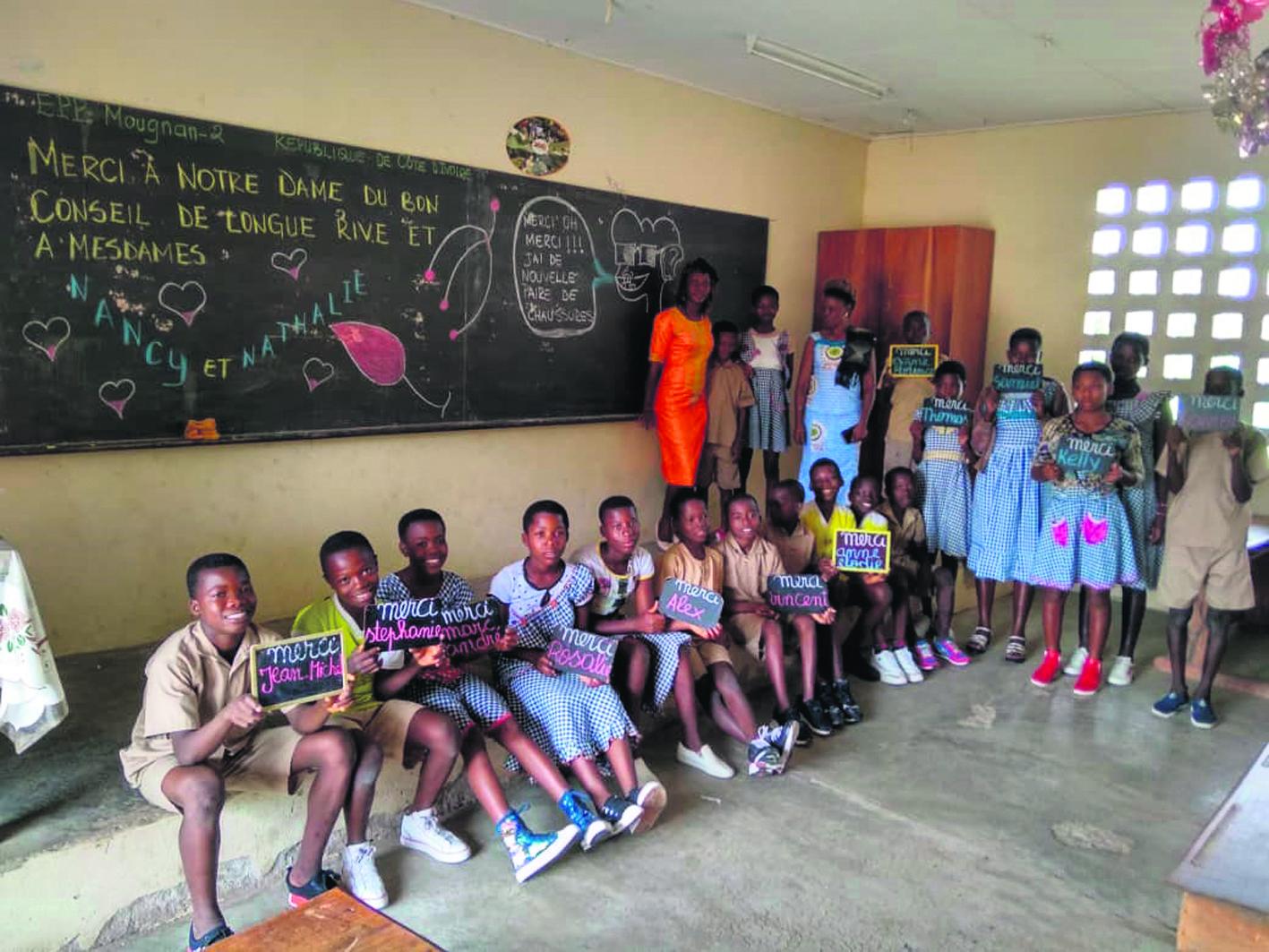 Des élèves de Longue-Rive améliorent le quotidien d'élèves africains