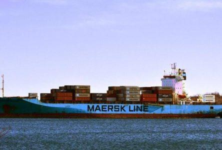Le Maersk Patras attendu à Montréal