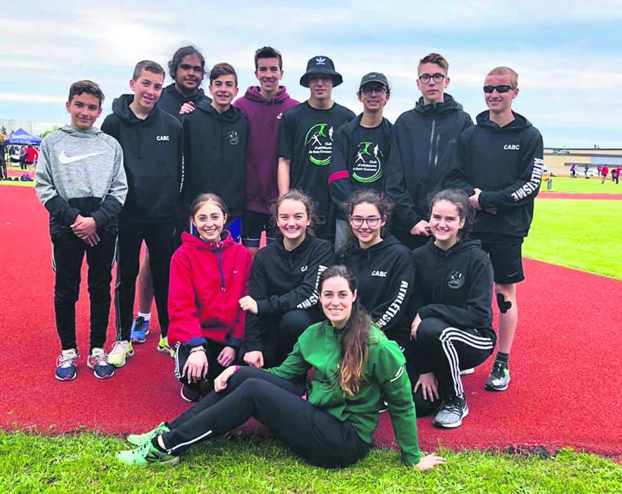 Le club d'athlétisme se signale à Thetford Mines