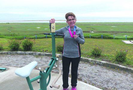 Sonia Boudreau vit à fond La Virée rose