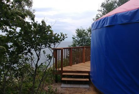 Hébergement prêt-à-camper à Portneuf-sur-Mer