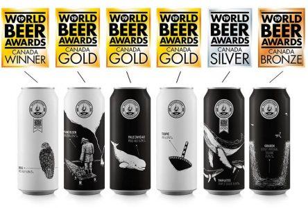 Microbrasserie Tadoussac primée aux <i>World Beer Awards</i>