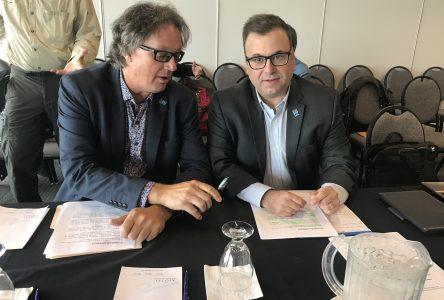 Les Éditions Nordiques à Matane pour la Commission sur l'avenir des médias