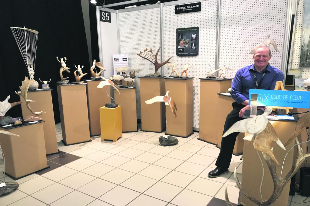 Richard Bouchard conquiert le jury de la Rencontre des Arts
