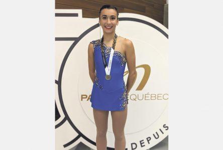 Les championnats de la sous-section Québec : trois patineuses font la manchette à Beauport