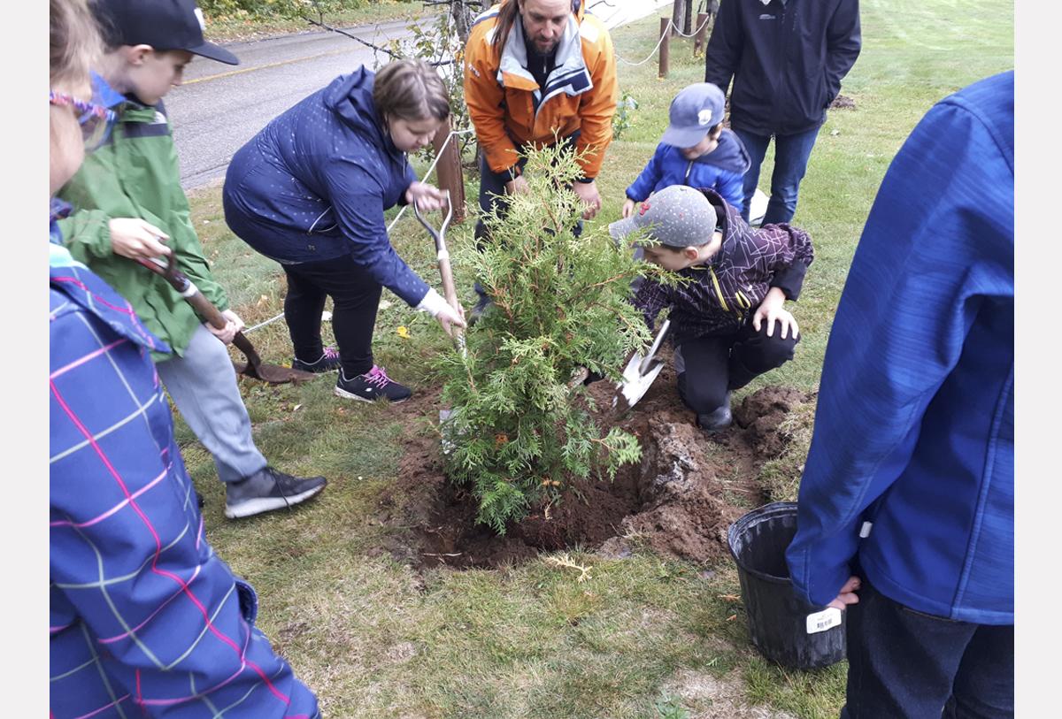 Les jeunes soulignent la Journée nationale de l'arbre