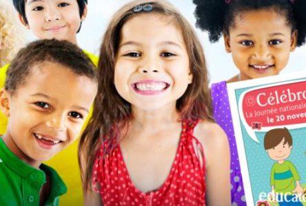 Le 20 novembre, c'est la Journée nationale de l'enfant
