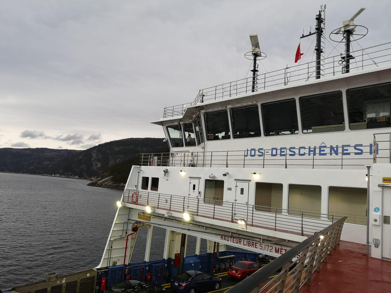 Le service de traverse Tadoussac–Baie-Sainte-Catherine reprend