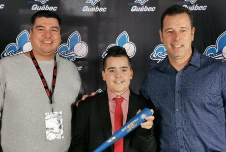 Baseball Québec : Zachary Gallant vole la vedette