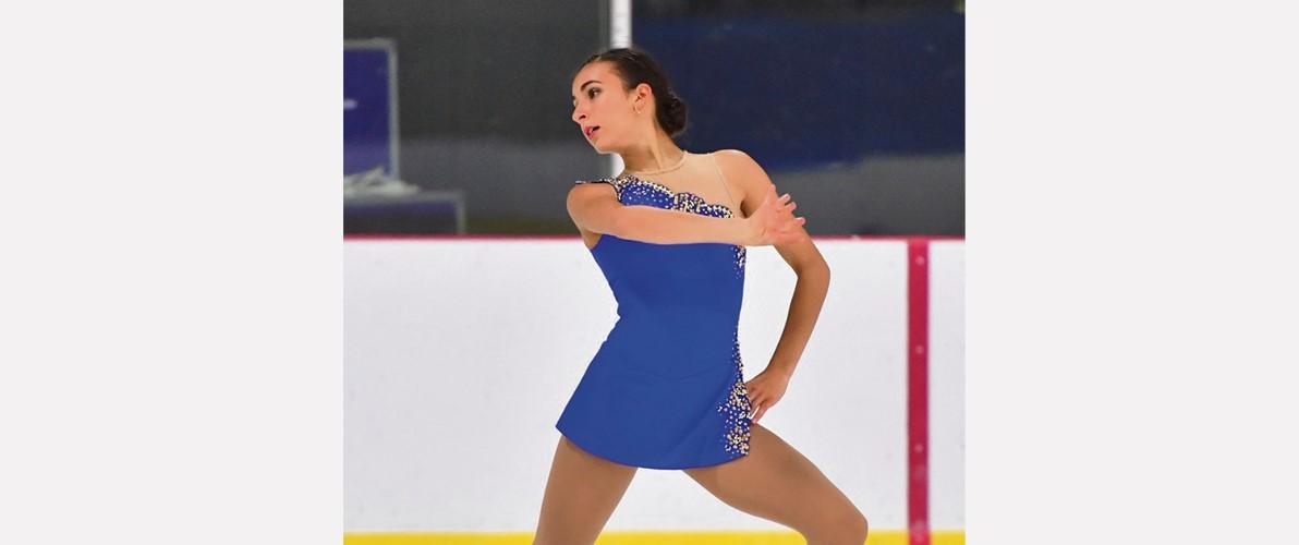 Audréanne Foster : vice-championne canadienne de patinage artistique