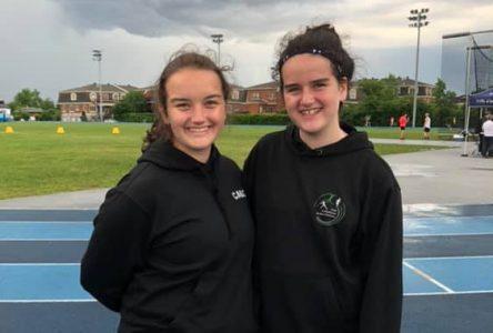 Trois Forestvilloises se démarquent en athlétisme