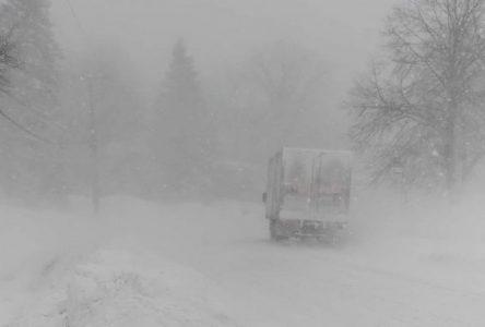 Des municipalités hébergent des gens pris dans la tempête