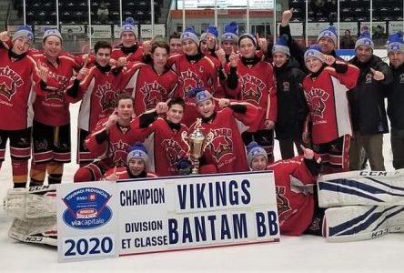 Hockey mineur : deux Forestvillois couronnés au tournoi de Rimouski