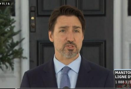 COVID-19 : Trudeau promet des tests et équipements en nombre suffisant