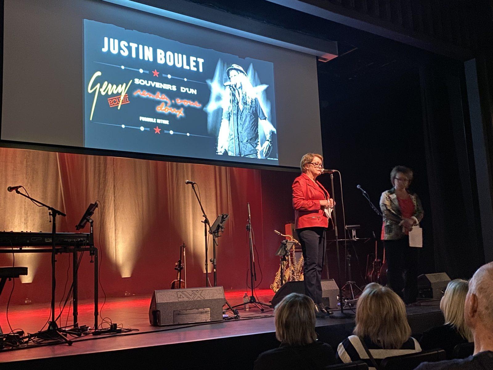Justin Boulet : le Pavillon des Arts est lancé devant 129 spectateurs