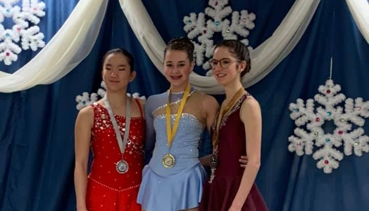 Patinage artistique : Lydia Bouchard remporte l'or