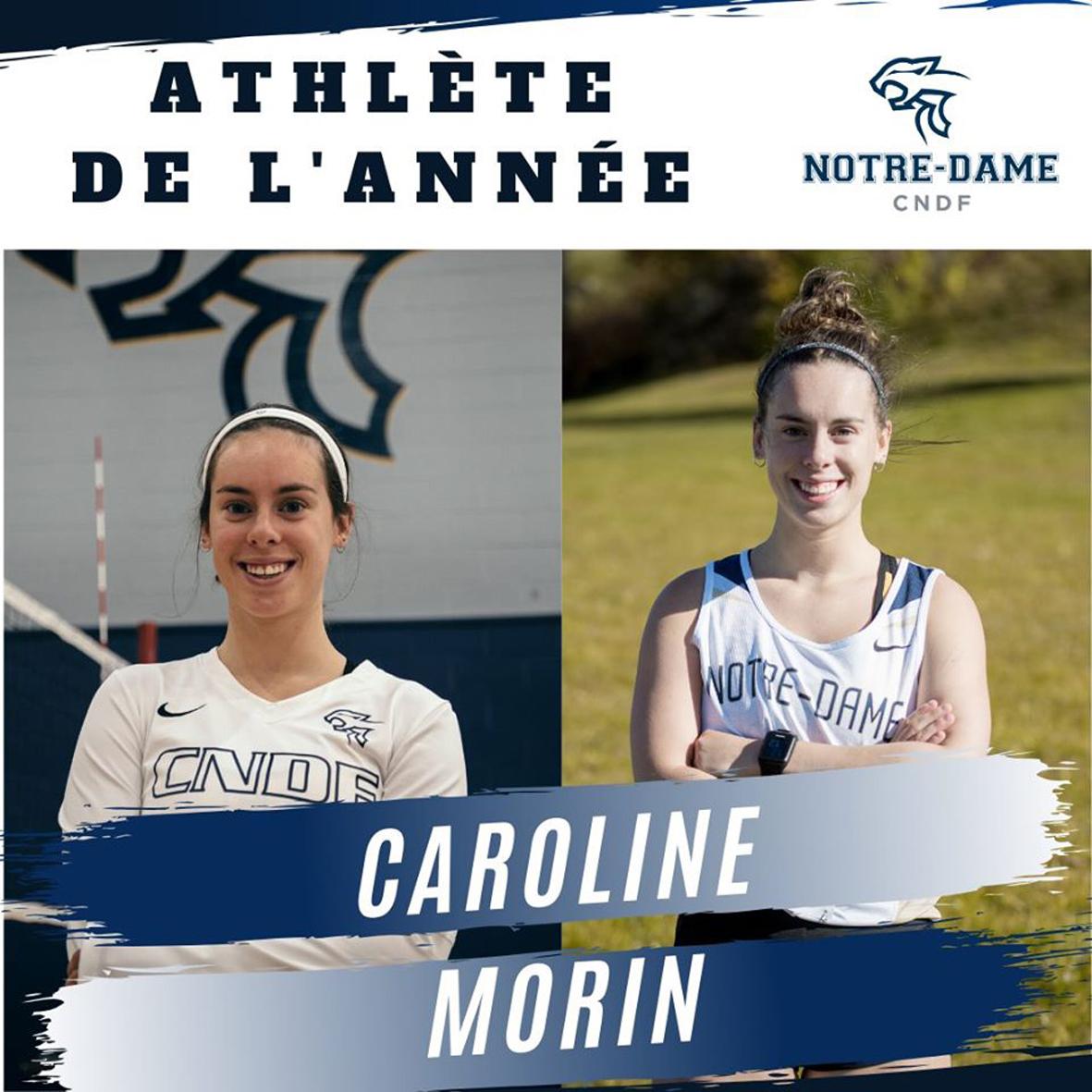 Caroline Morin s'illustre au Campus Notre-Dame-de-Foy