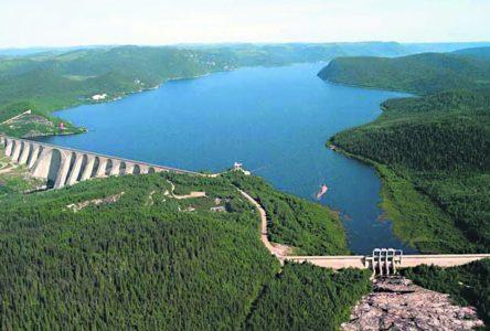 Hydro-Québec ne peut pas encore toucher au niveau du réservoir Manicouagan