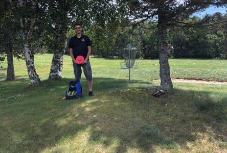 Le disc golf arrive à Tadoussac