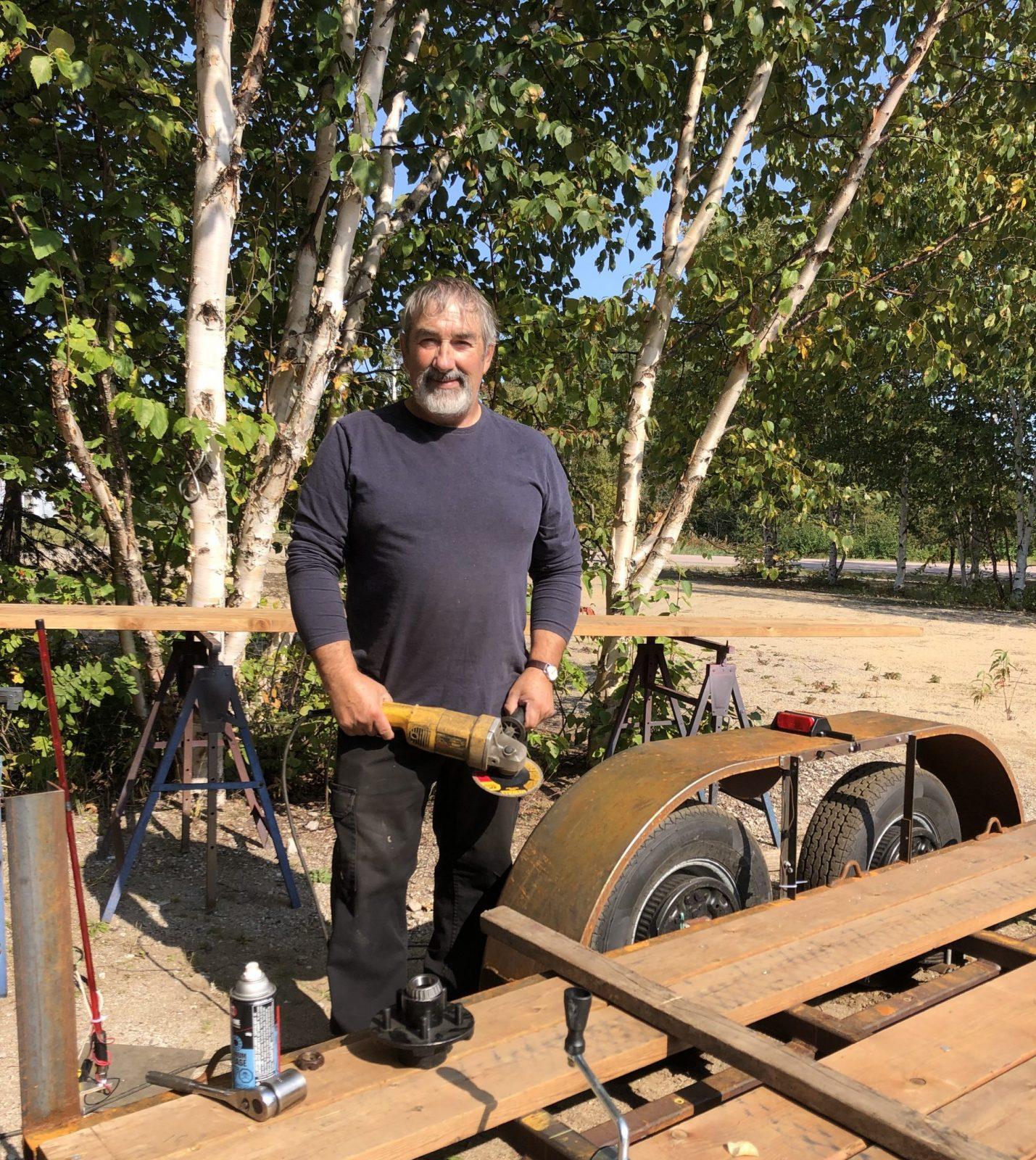 Claude Dionne : de capitaine à fabricant de remorques