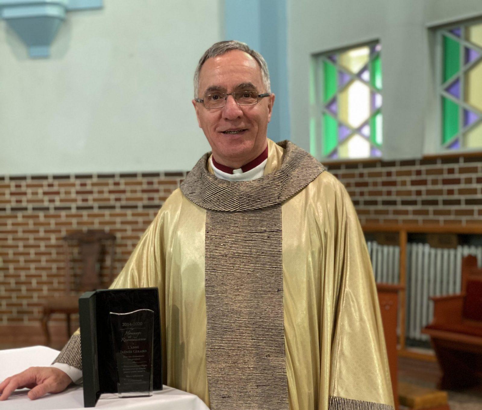 Le curé Irénée Girard honoré