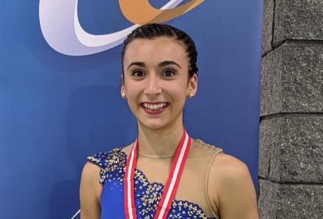 Audréanne Foster au Défi de patinage Canada