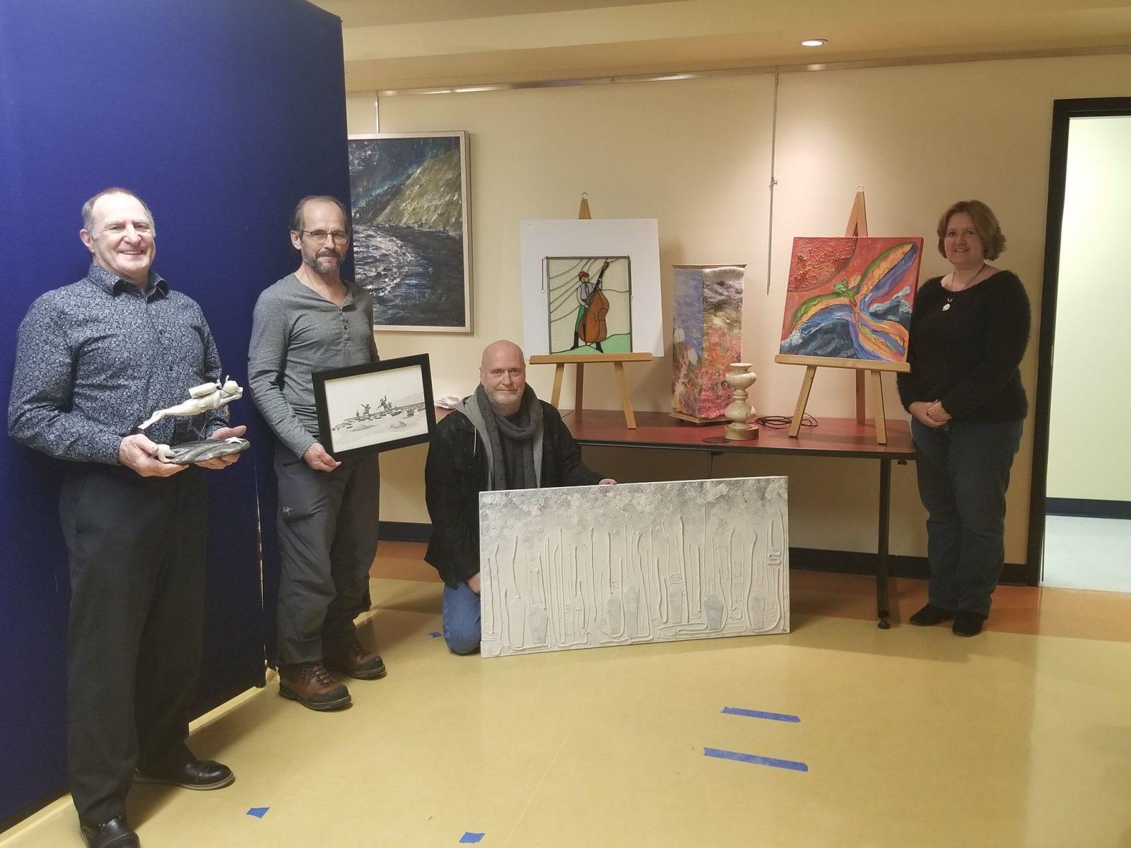 Sept nouvelles œuvres d'art exposées à la MRC