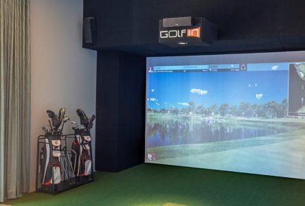 Un projet de golf virtuel s'amorce à Forestville