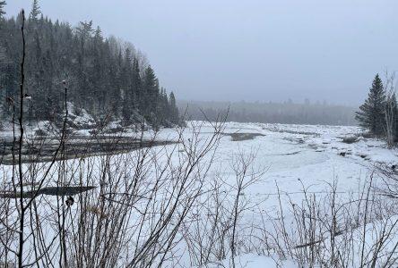 (VIDÉO) Embâcles inquiétants sur la rivière Portneuf