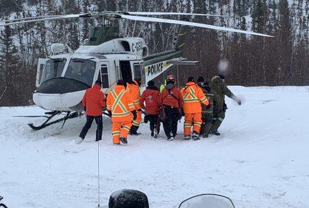Motoneigiste gravement blessé : les témoins directs se confient