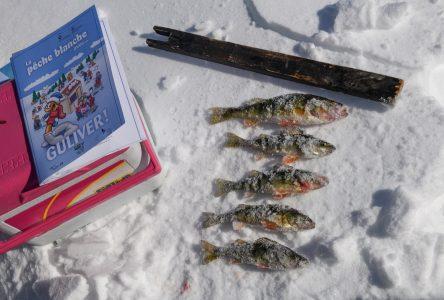 Des jeunes initiés à la pêche blanche