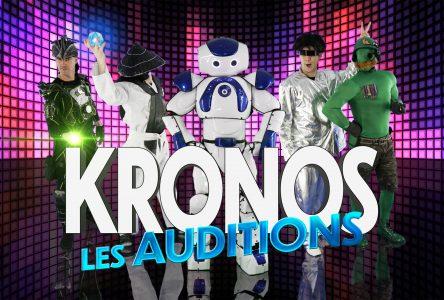 KRONOS-LES AUDITIONS: une expérience temporelle pour les écoles de la province